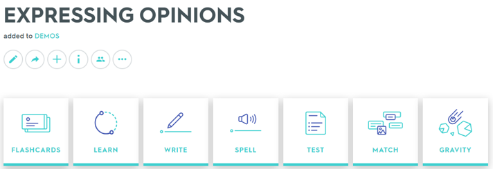 EXPRESSING OPINIONS - Quizlet
